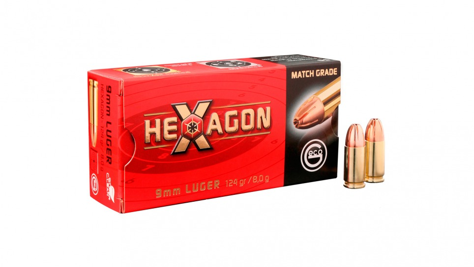 GECO PP 9mm Luger Hexagon SMALL