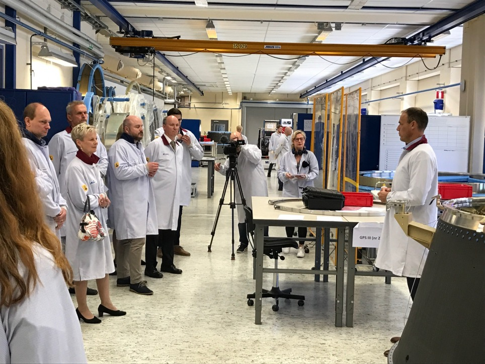 Ruag Space Sweden Opens New Facility In Linkoping And Doubles Its