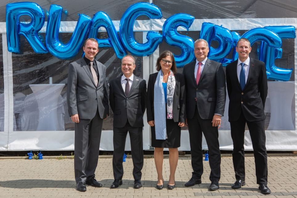 Feier Umbenennung HTS in RUAG Space Germany