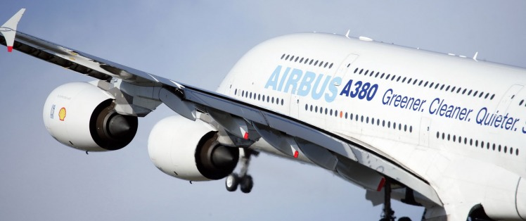Flying Airbus A380