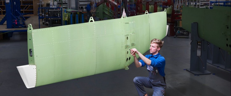 Assembling Horizontal Stabilizer