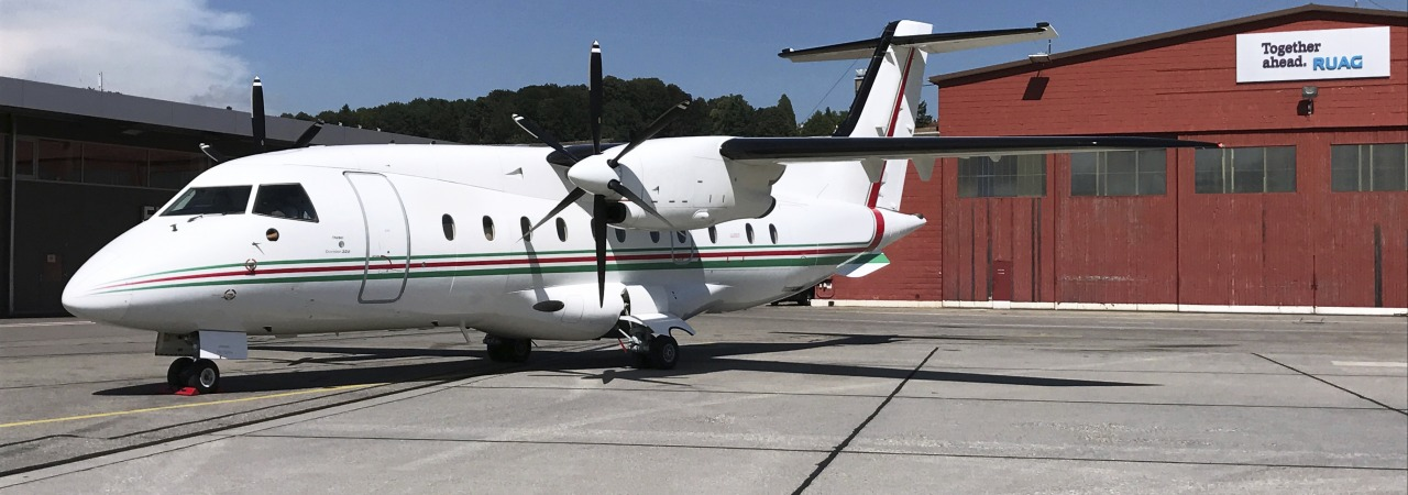 Dornier 328 completes Phase 4 and 6 inspection at RUAG Bern
