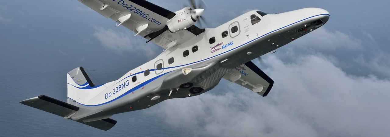 Dornier 228 RUAG Aviation flight