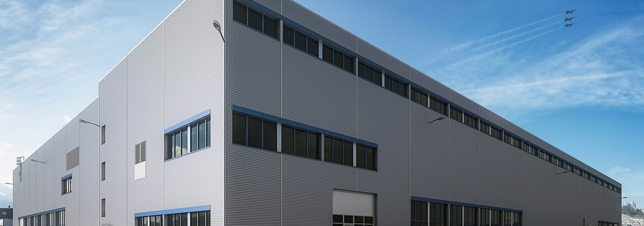 Handover of keys to new surface treatment building in Emmen