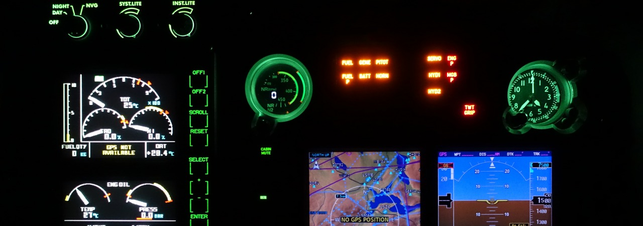 DOA scope expansion NVIS cockpit at night – detail