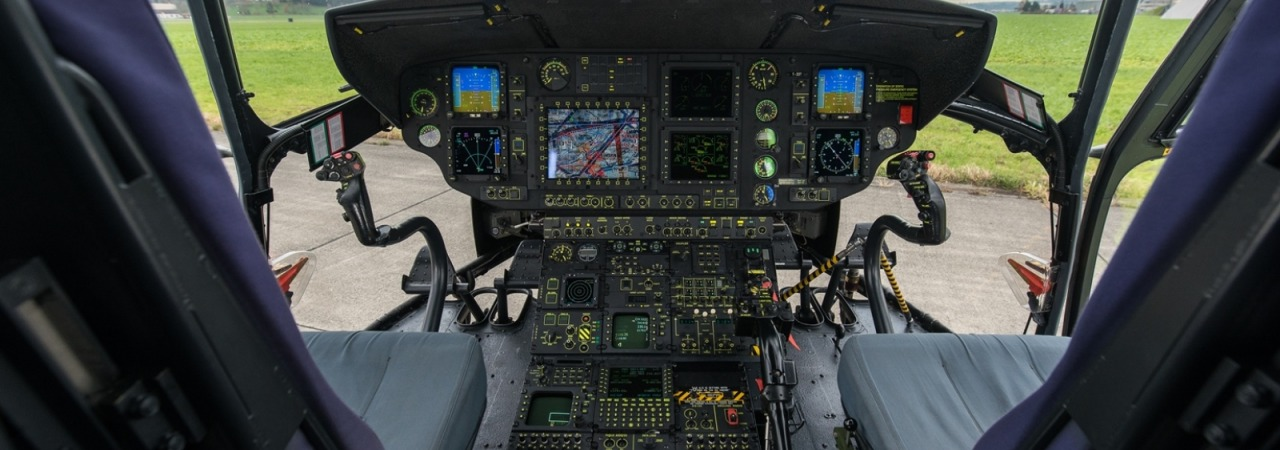 Cockpit Cougar Swiss Air Force